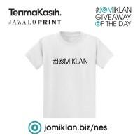 Baju Logo JOMIKLAN - T-shirt