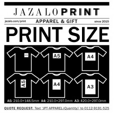 1-Colour Vinyl Apparel Printing with T-shirt
