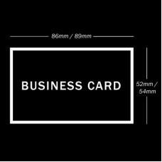 Business Card  (250gsm) Printing