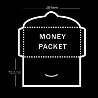 Money Packet (Landscape) Printing