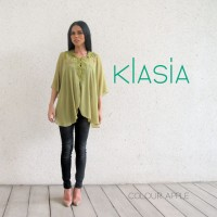 KLasia Embroidered Neckline Kebaya Top