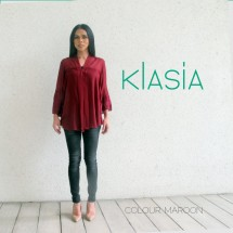 KLasia Embroidered Sleeve Kebaya Top