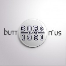 #BBBORN KLMAX BORN Button Badge