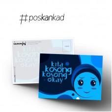 Kita Kosong Kosong Okay Postcard