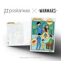 HARI RAYA Postcard by WANMARS